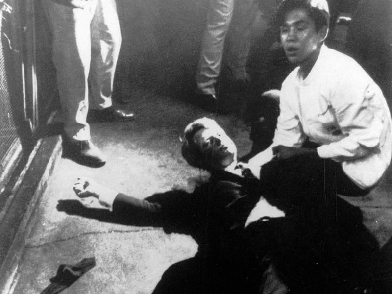 Robert Kennedy Shot