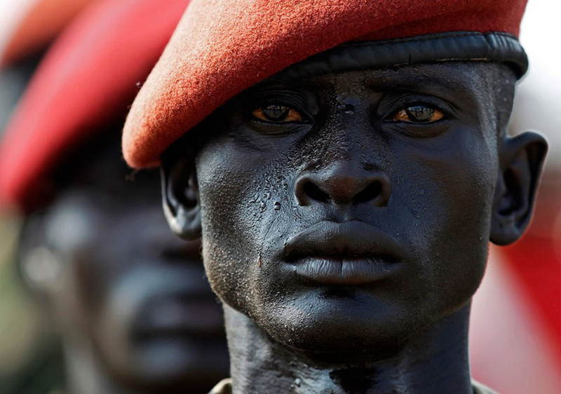 Influential Photographs South Sudan Soldier