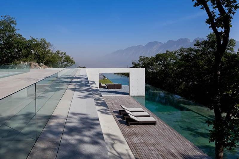 Modern Homes Monterrey Deck