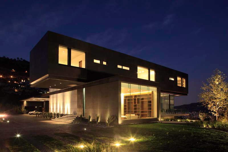 modern homes monterrey - Contemporary Modern Home