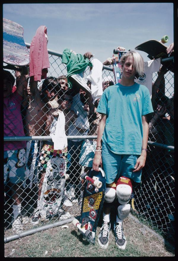 Tony Hawk In The Early 1980s