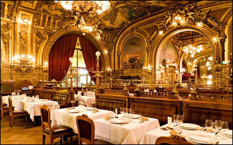 Belle Epoque Dining Room Paris