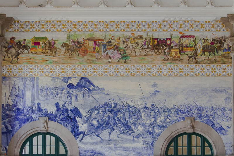 Train Stations Sao Bentao Wall Art