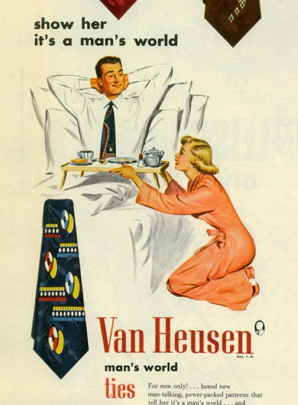 Vintage Ads It's A Mans World