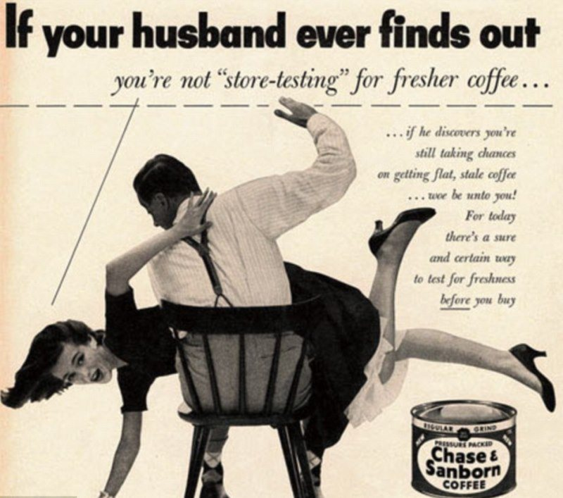 Store Bought Coffee Ad
