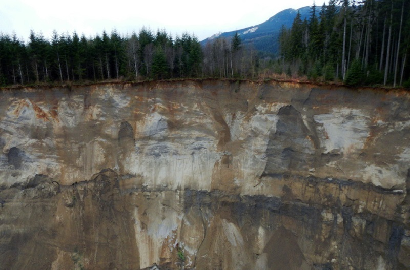 Origin of the Landslide