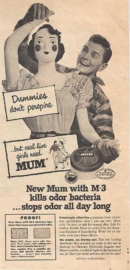 Women's Deodorant Print Ad