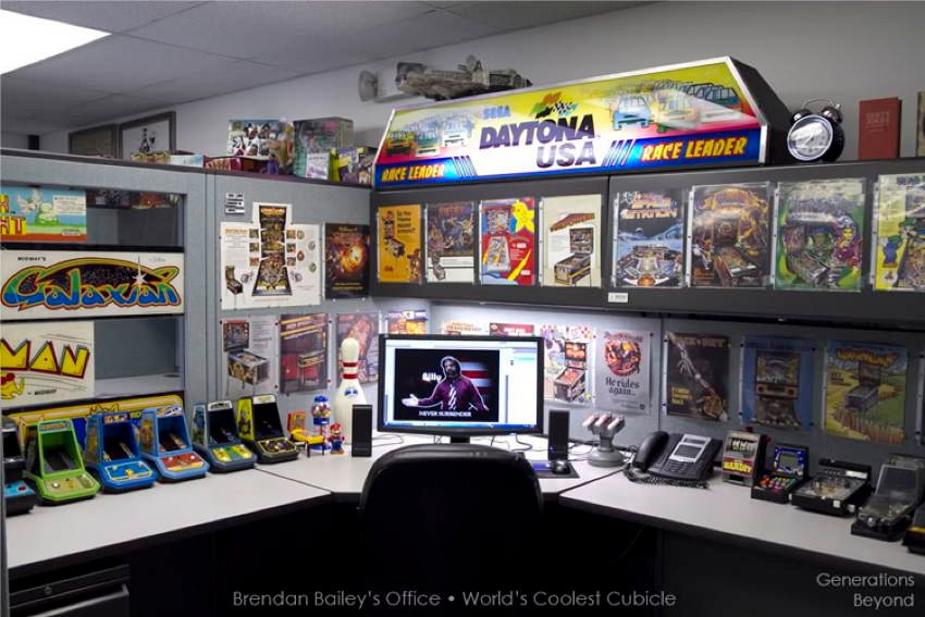 Cool Office Cubicles Coolest Offices Arcade H