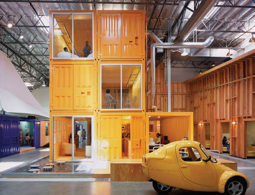 Coolest Offices Stacking Crates
