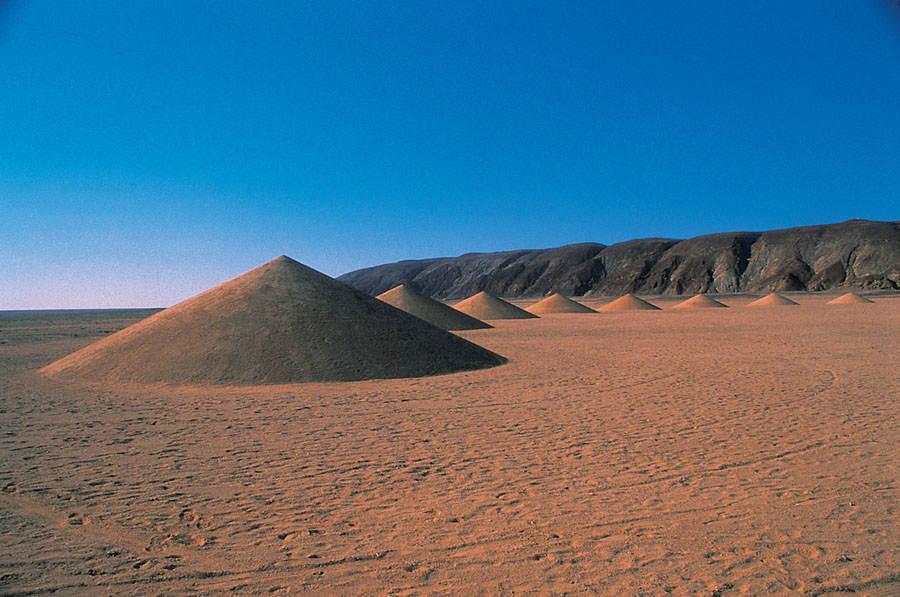 Desert Breath Descending Mounds