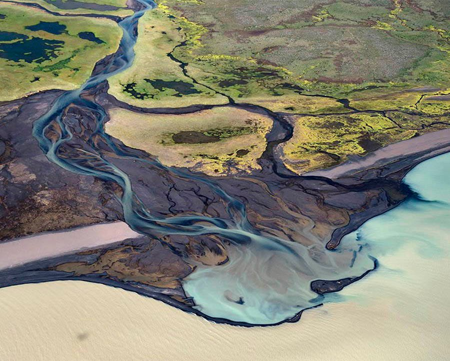 Volcanic Rivers Algae