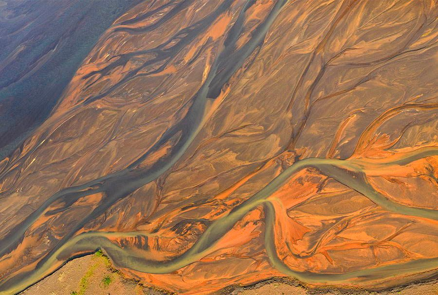 Volcanic Rivers Orange