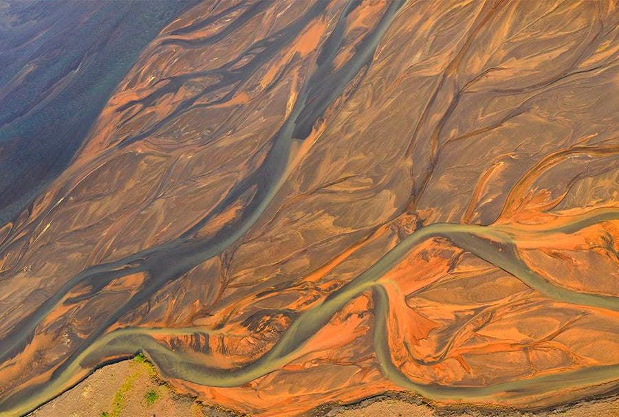 Volcanic Rivers Orange