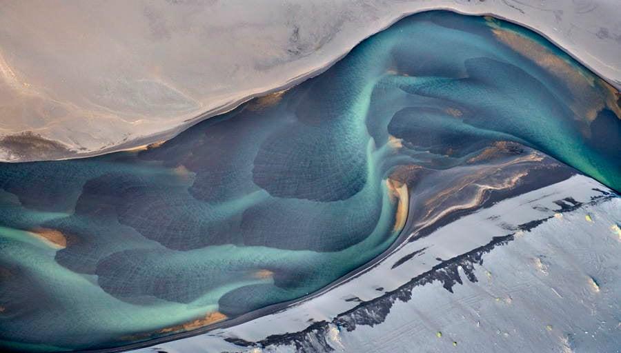Volcanic Rivers Shell Shape