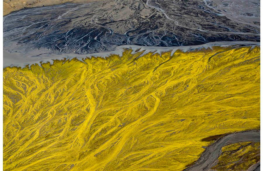 Volcanic Rivers Yellow