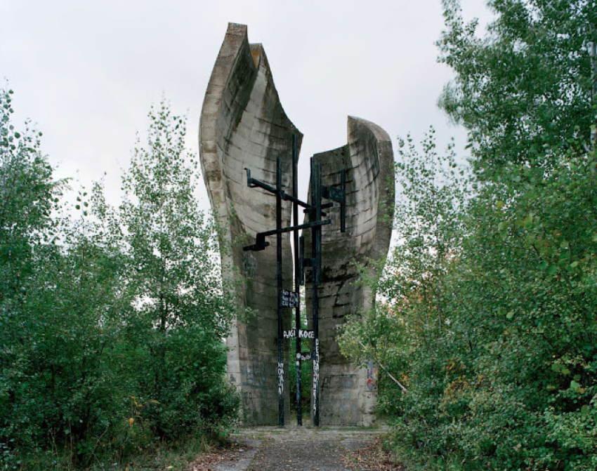 Abandoned Soviet Monuments Beams
