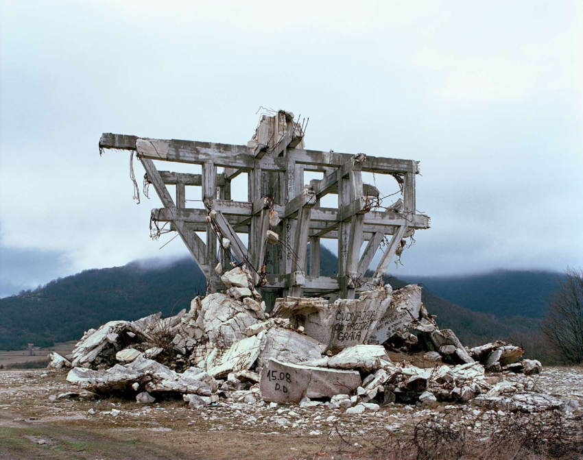 Abandoned Soviet Monuments Boards