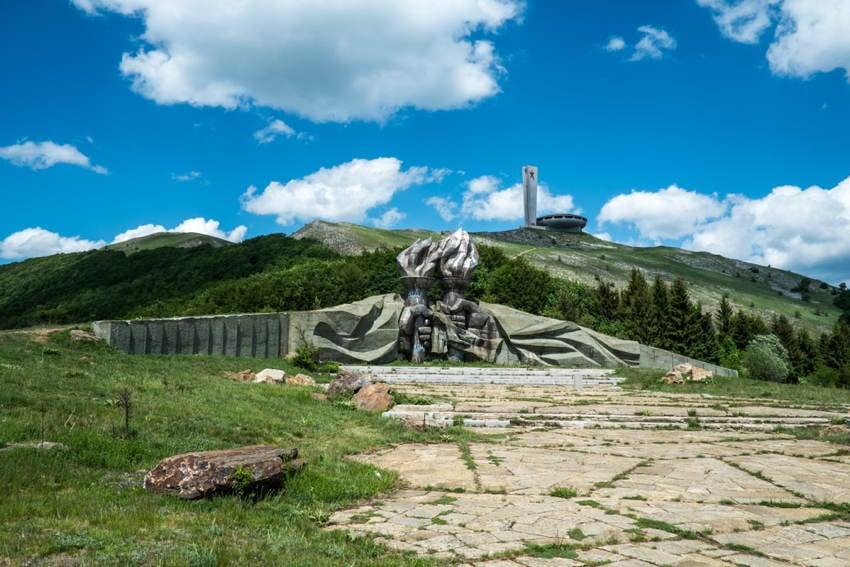 Abandoned Soviet Monuments Buzludzha Hill