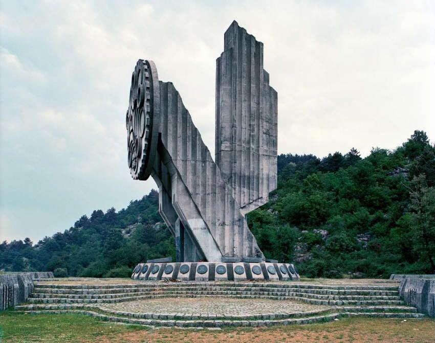 Abandoned Soviet Monuments Circle