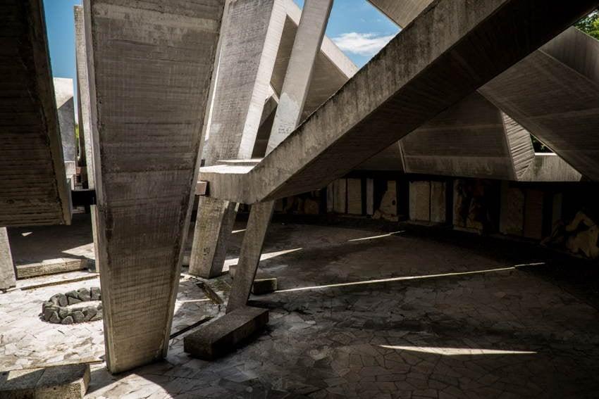 Abandoned Soviet Monuments Geometry