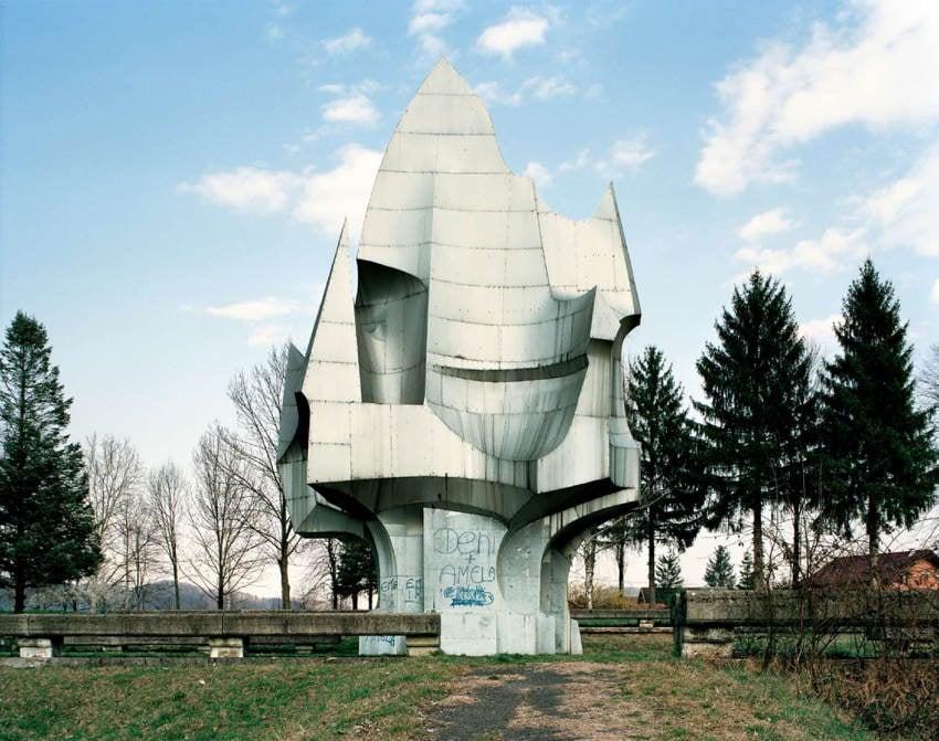 Abandoned Soviet Monuments Graffiti