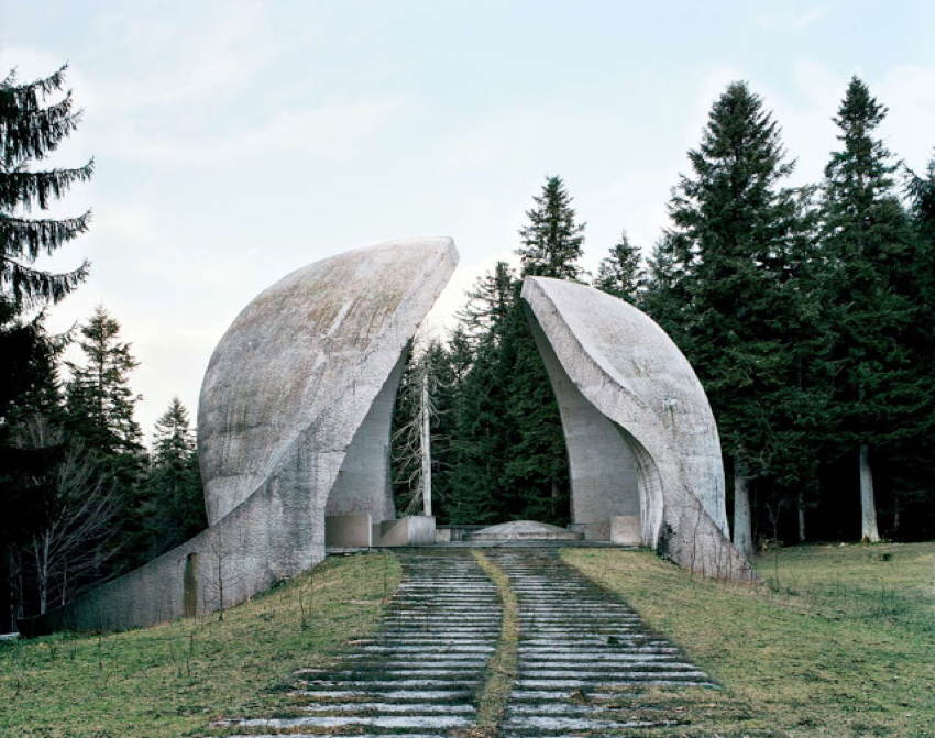 Abandoned Soviet Monuments Hollow