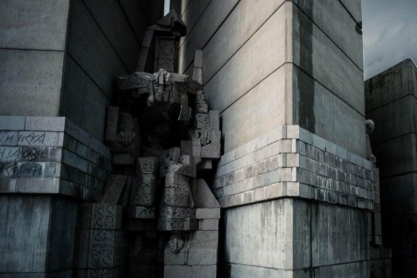 Abandoned Soviet Monuments Man