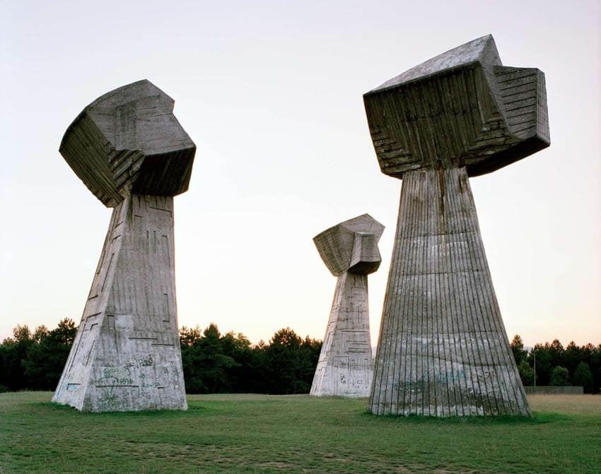 Abandoned Soviet Monuments Pillars