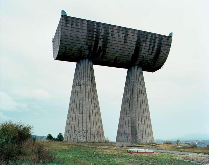 Abandoned Soviet Monuments Popped