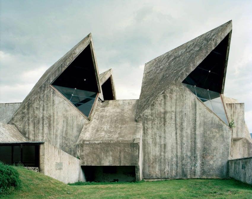 Abandoned Soviet Monuments Sharp