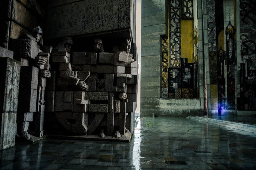 Abandoned Soviet Monuments Shumen