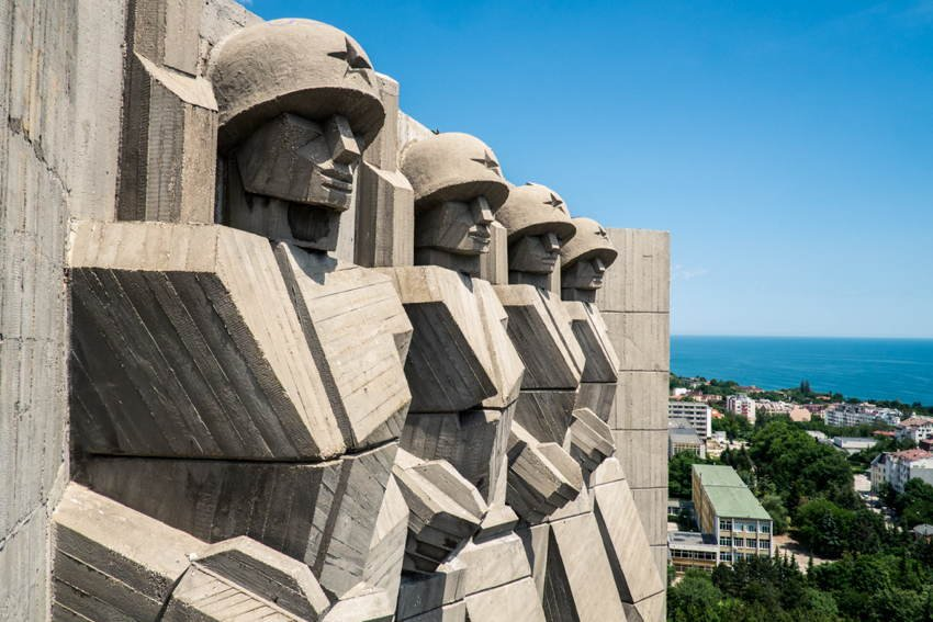 Abandoned Soviet Monuments Soldiers