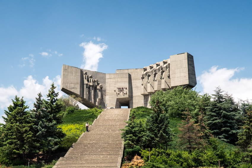 Abandoned Soviet Monuments Stairs