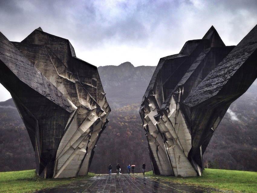 Abandoned Soviet Monuments Stone