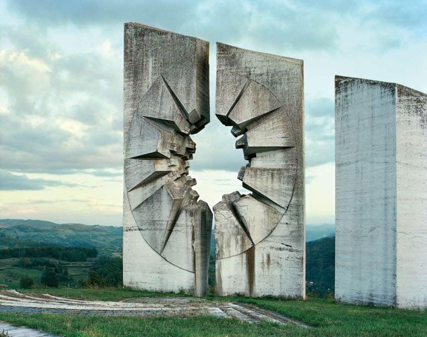 Abandoned Soviet Monuments Sunburst