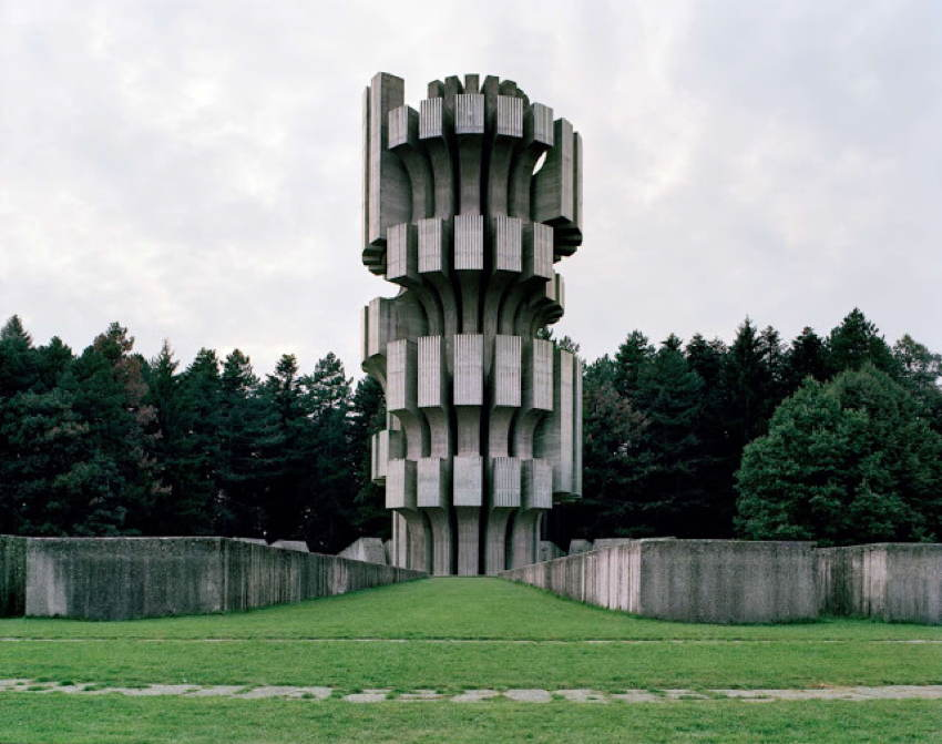 Abandoned Soviet Monuments Tower