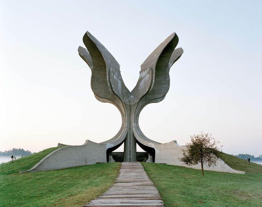 Abandoned Soviet Monuments Tree