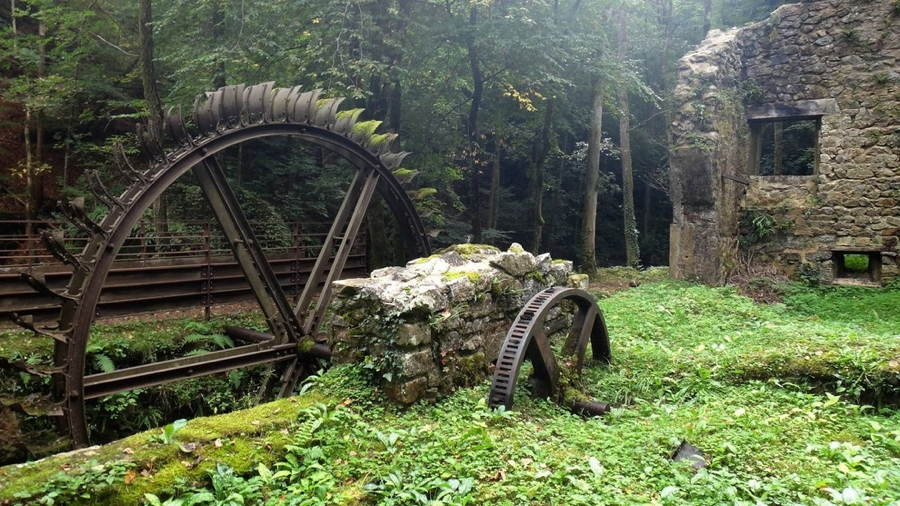 Abandoned Structures Blade Mill France