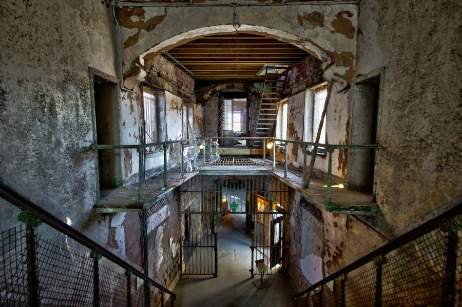Abandoned Places Eastern State Penitentiary