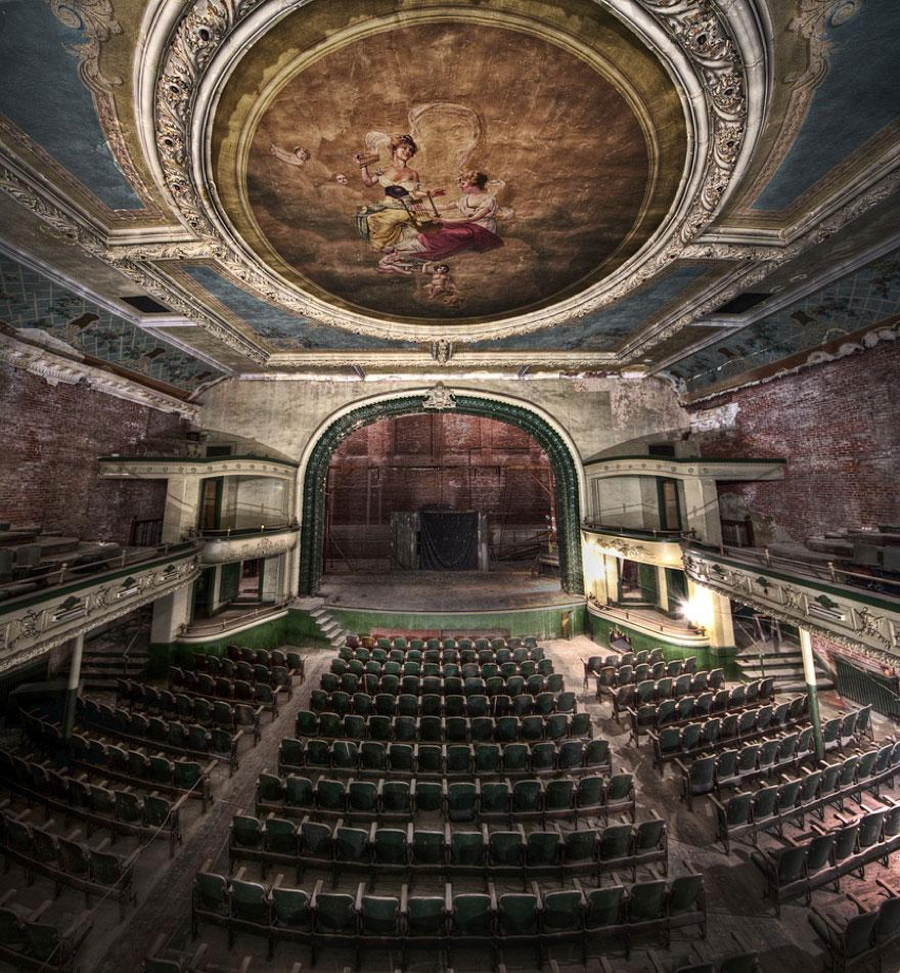 Abandoned Structures New Bedford Orpheum