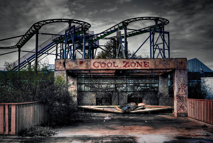 Abandoned Structures Six Flags Jazzland