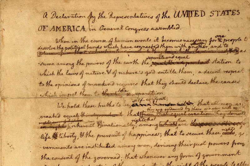 American History Declaration Of Independence