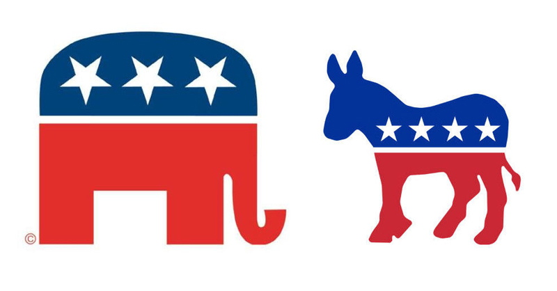 American History Party Logos