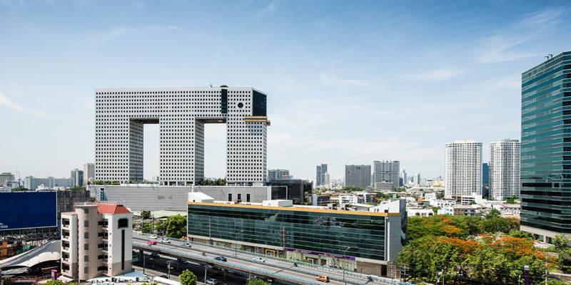 Asian Structures Elephant Skyline