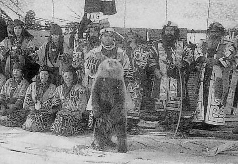 Strangec Cultural Practices Bear Slaughter