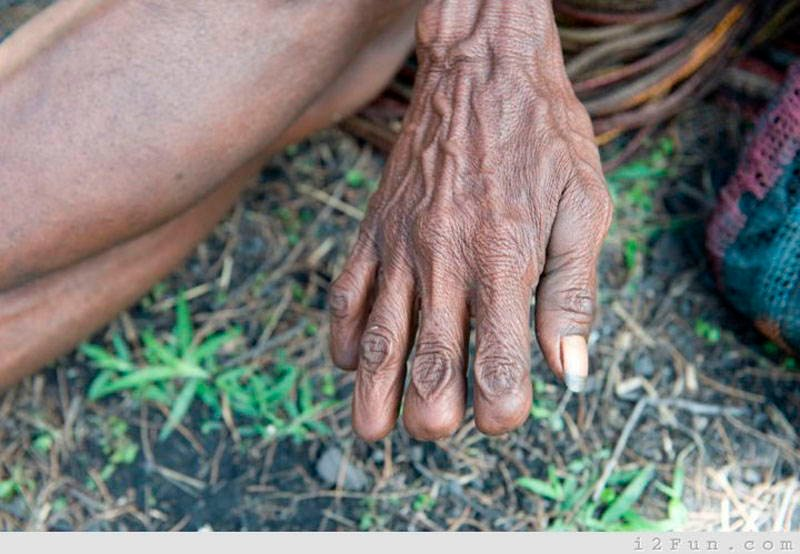 Bizarre Cultural Practices Finger Tribe