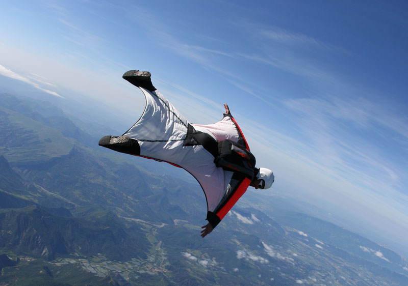 Weird Hobbies Wingsuit Jumper