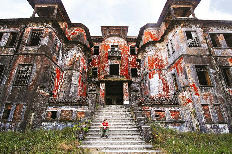 Bokor Hill Station in Cambodia