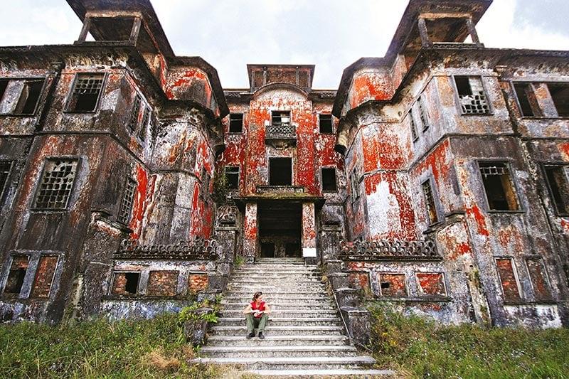 Bokor Hill Station in Cambodia