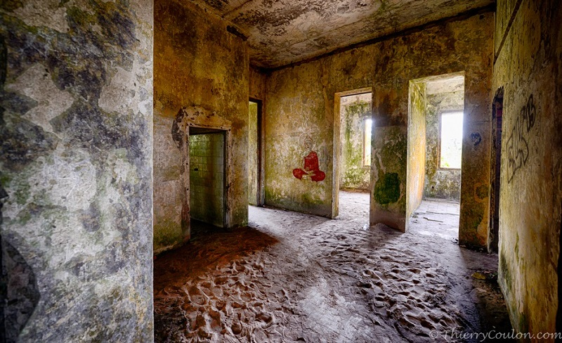 Inside Bokor Hill Station